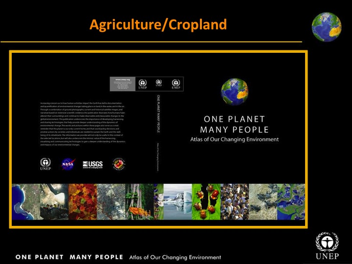 UNEP: Agriculture/Cropland