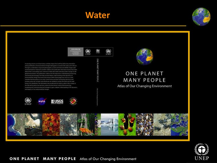 UNEP: Water